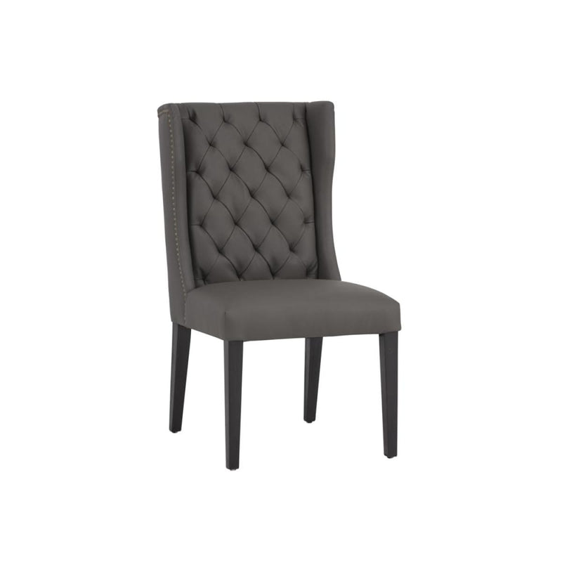 MARI DINING CHAIR CHARCOAL