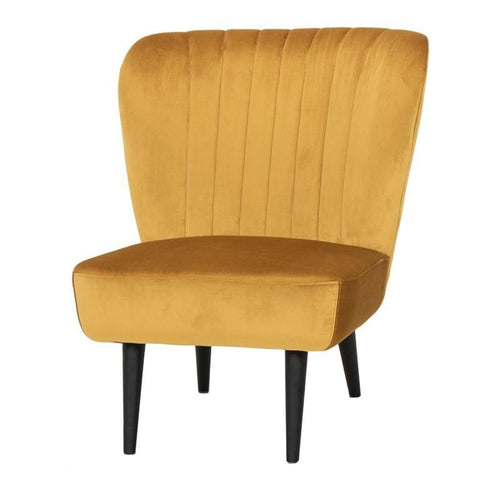 MERLYN OCCASIONAL CHAIR MUSTARD