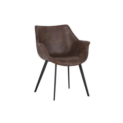 MINA CHAIR BROWN - Chairs