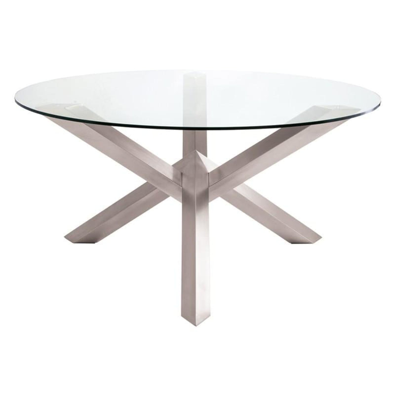 MIREL DINING TABLE CLEAR 72 - Dining Table