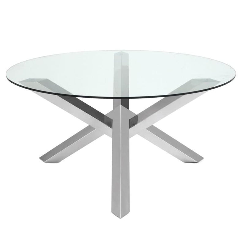 MIREL DINING TABLE CLEAR