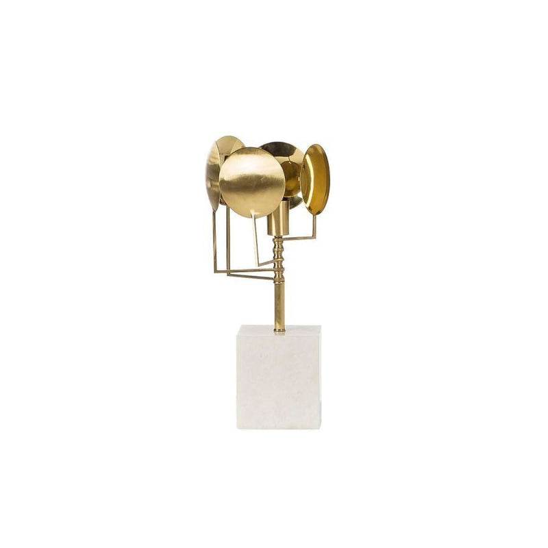 NELMA LAMP BRASS - LIGHTING