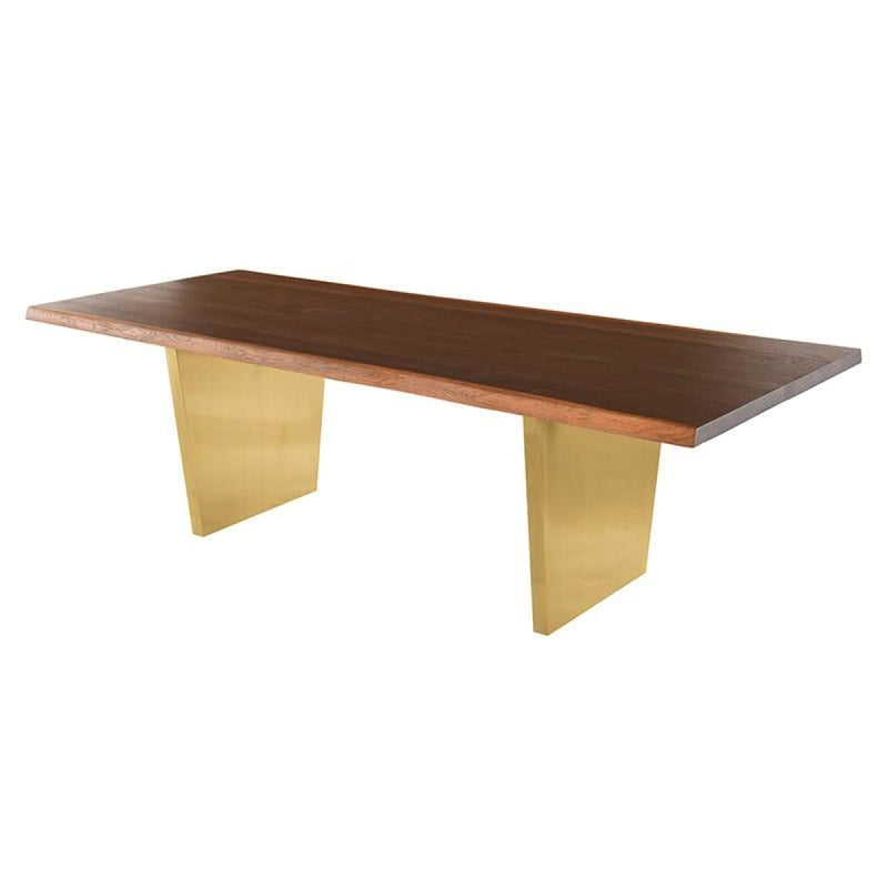 PATRICK DINING TABLE SEARED 112""