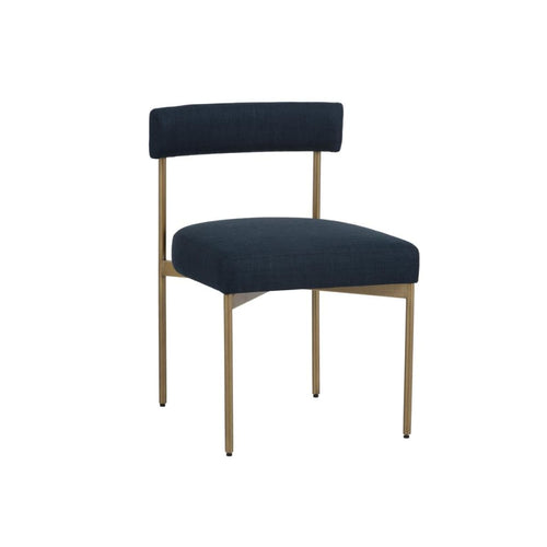 RAGNARA DINING CHAIR NAVY SET OF 2 - DINING CHAIR