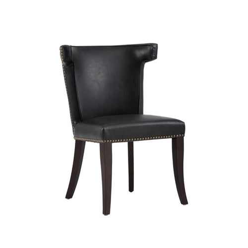 REEVE DINING CHAIR COAL BLACK