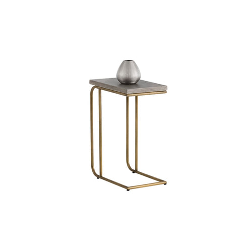 RENFIELD C SHAPED END TABLE