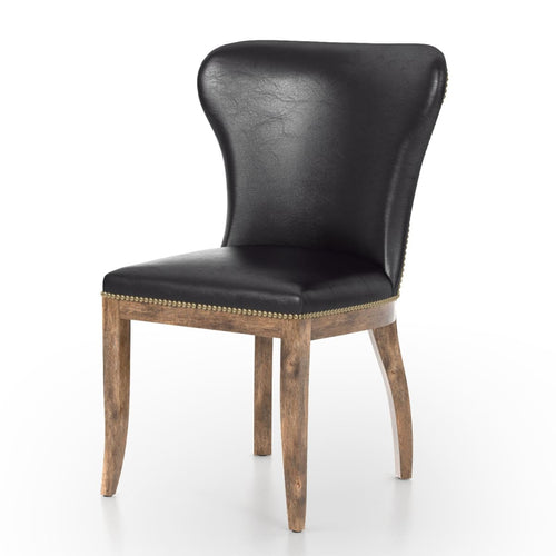 RICHMOND LEE  DINING CHAIR: OLD SADDLE BLACK