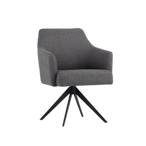 SERAFINA SWIVEL CHAIR GREY