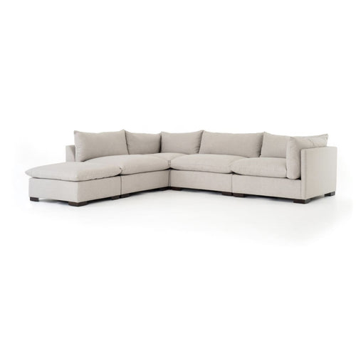 TAPIO 4 PC SECTIONAL W/ OTTOMAN-BM