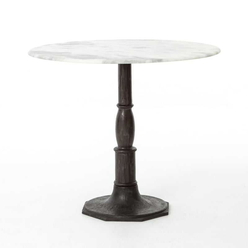 TERENTIA BISTRO TABLE CARBON WASH - Dining Tables