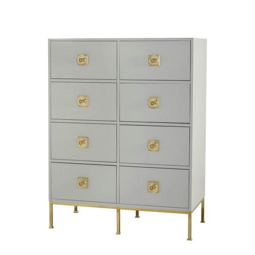 WARLEY CHEST - 8 DRAWER / PUTTY - dresser