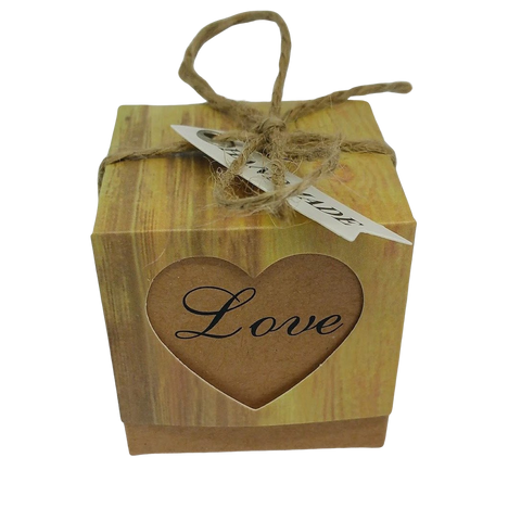 Gift Box Bath Bomb- Made with Love - Natural Essences