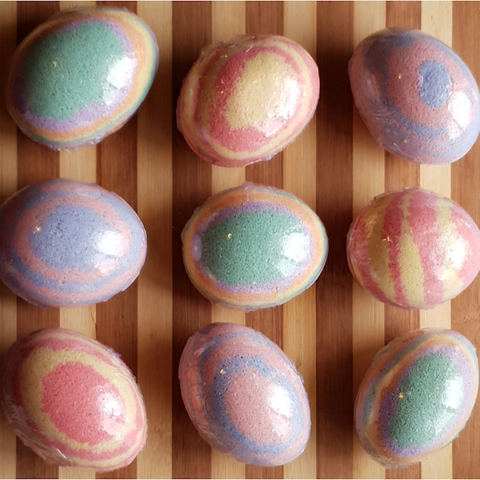 Easter Eggs Bath Bombs - Natural Essences