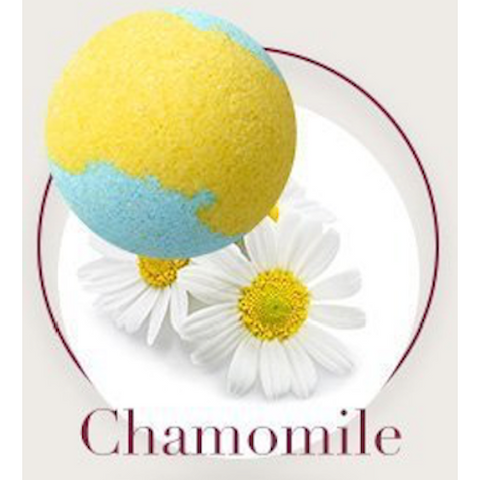 Chamomile Bath Bomb - Natural Essences