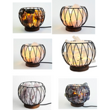 Crystal Cage - Lamps (Various types available) - Natural Essences