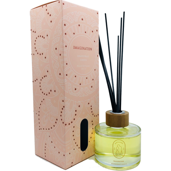 Reed diffuser-Grapefruit Cassis - Natural Essences