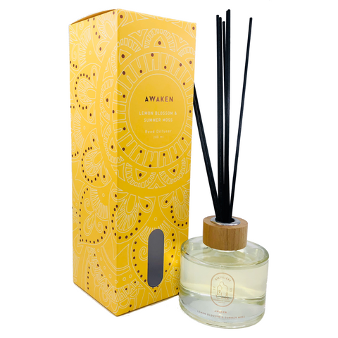 Reed diffuser- Lemon Blossom - Natural Essences