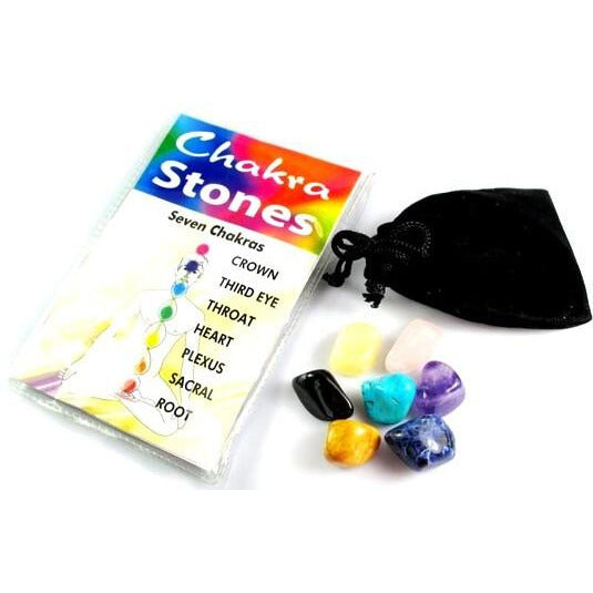 Chakra Stones - Individual - Natural Essences