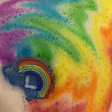 Rainbow Burst Bath Bombs