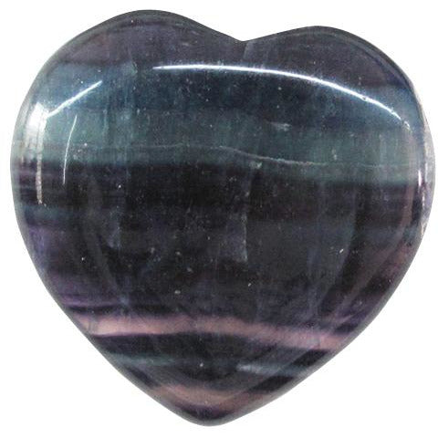 Fluorite Heart - Natural Essences