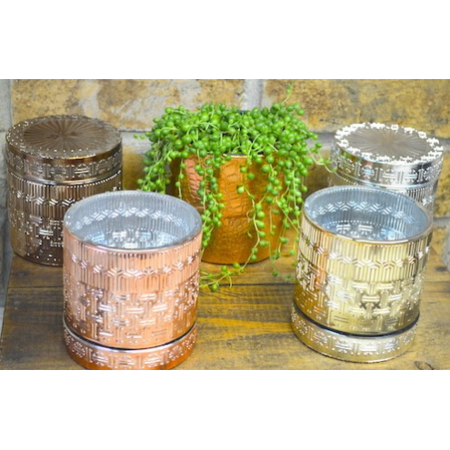 MAYFAIR GLASS CANISTER CANDLES