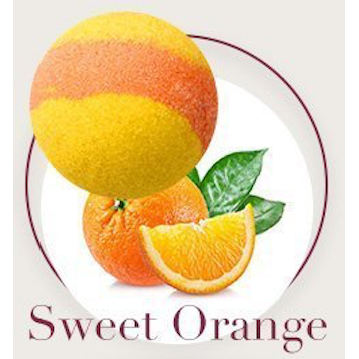 Sweet Orange Bath Bombs - Natural Essences