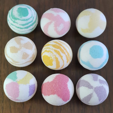 "RELAX ANXIETY BATH BOMBS 3"" - Natural Essences"