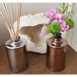 REED DIFFUSERS- Metallic Glassware