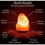 Fire Bowl Salt Lamps- 12 Different selections - Natural Essences