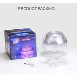 500ml Air Humidfier USB Diffuser Ultrasonic Crystal Night Lamp - Natural Essences