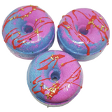 Doughnut Bath Bombs- Bubblegum - Natural Essences
