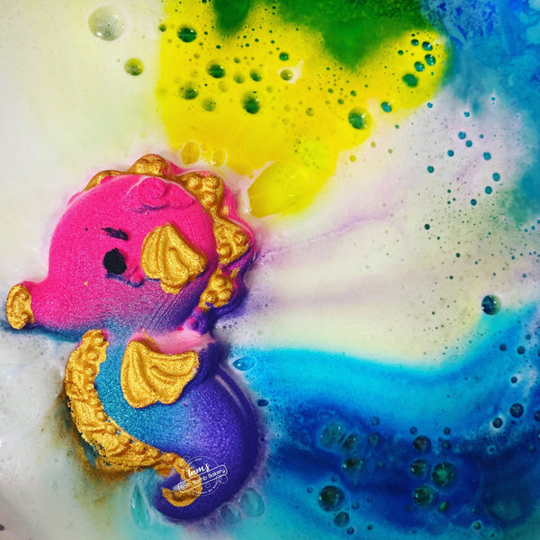 Seahorse Bath Bomb - Natural Essences