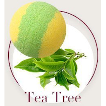 Tea Tree Bath Bombs - Natural Essences