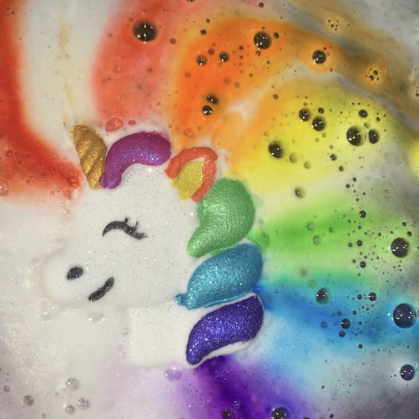 Rainbow Unicorn Bath Bomb - Natural Essences