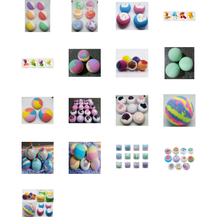 HANDMADE BATH BOMBS -WHOLESALE