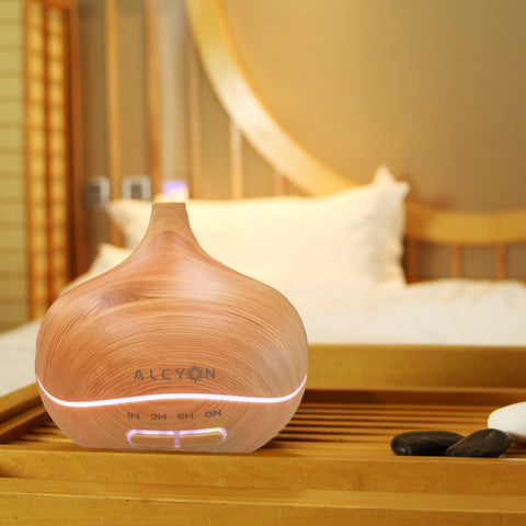KURI Ultrasonic Aromatherapy Diffuser 300ml | 16hrs - Natural Essences