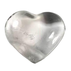 Clear Quartz Hearts - Natural Essences