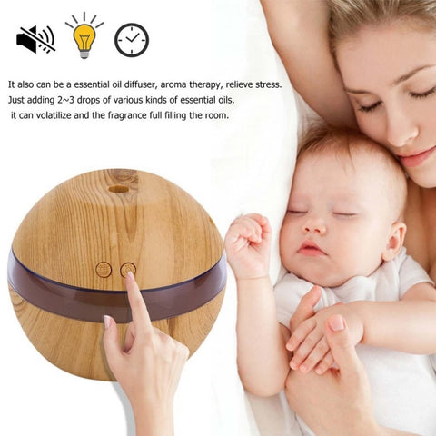 USB LED Ultrasonic Essential Oil Diffuser Humidifier - Natural Essences