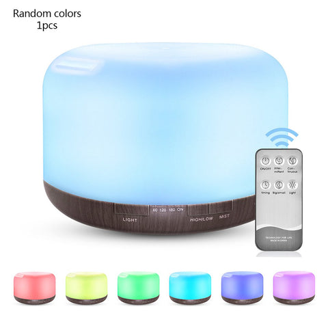 500ML Quiet Aroma Diffuser Ultrasonic USB Mist Humidifier - Natural Essences