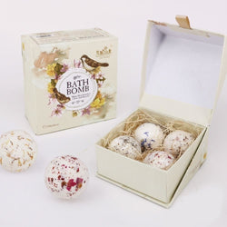 4pcs  Natural Bath Salt Ball - Natural Essences