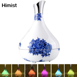 Blue and White Essential Oil Diffuser /Humidifier 7Color LED Light - Natural Essences