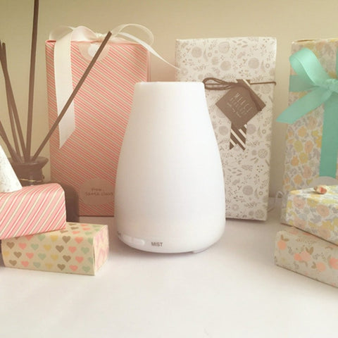Ultra Quiet Colorful Night Light Air Humidifier Ultrasonic Diffuser - Natural Essences