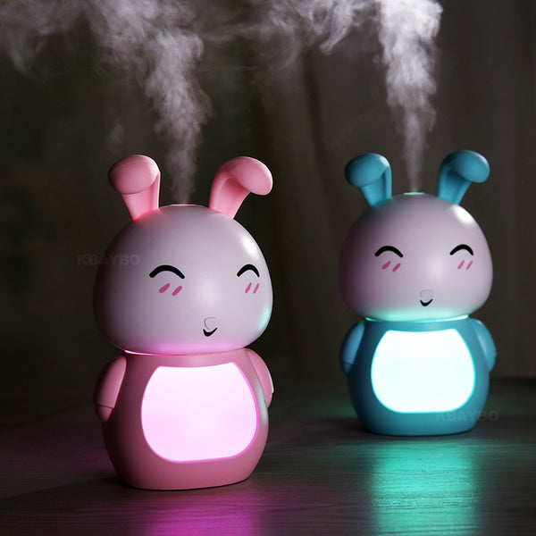 Rabbit USB Aroma Ultrasonic Diffuser with LED Night light - Natural Essences