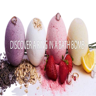 Ring Bath Bombs - Natural Essences