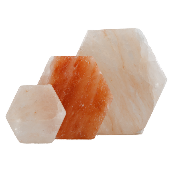 Hexagonal Salt Tiles - Natural Essences
