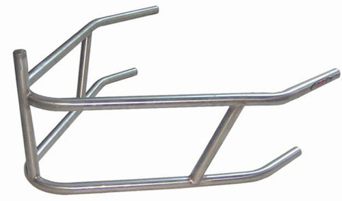 XXX Sprint Car Rear Bumper With Post Stainless Steel Polished