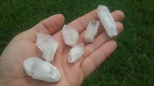 Crystal Candles - Candlestick Quartz