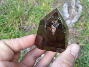 "Smoky Quartz Tower F 2.2"" 4.8oz"