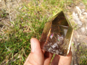 Smoky Smokey Quartz Crystal Tower Point Protection Healing Energy Grounding
