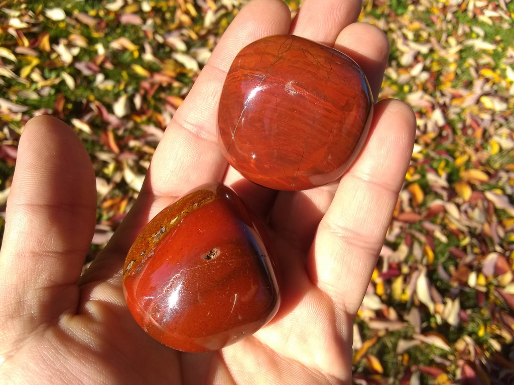 Red Jasper Large Tumbled Stone